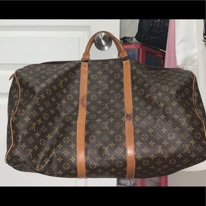LV Keepall 60 (carry on approved)